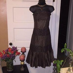 Sexy strapless dress